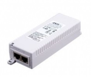AXIS T8133 - 120 V AC, 230 V AC Tulo - 1 10/100Base-TX Input Port(s) - 1 10/100Base-TX Output Port(s) - 30 W