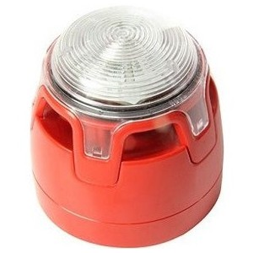 CWSS-RR-W5 Punainen LED- vilkkusireeni EN 54-23