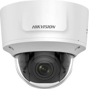 Hikvision DS-2CD2755FWD-IZS 5MP IP-kamera - Väri - 30 m Night Vision - H.264, H.265, MJPEG - 2944 x 1656 - 2,80 mm - 12 mm - 4,2x Optical - CMOS - Kaapeli - Dome - Seinäkiinnitys, Tankoasennus, Kattokiinnitys