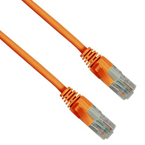 Cat6 RJ45 Patch 2m Orange