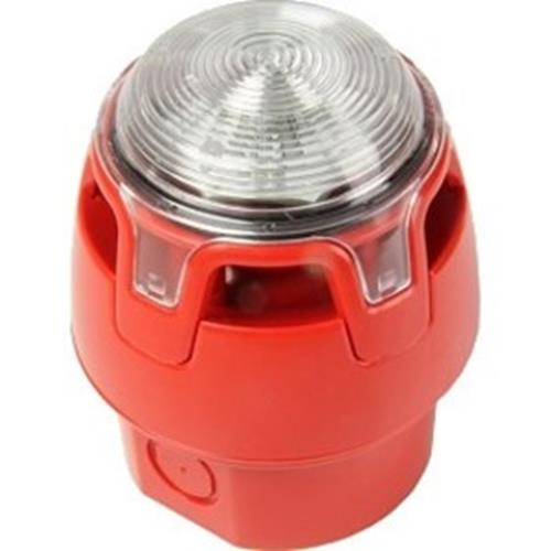 CW S/BEACON-RED-RED LED & IP65 BASE