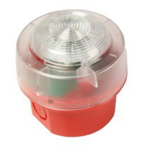 CW BEACON-RED-RED LED & IP65 BASE
