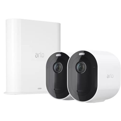 Arlo Pro 3 2K QHD Wireless White Spotlight 2 Camera Kit