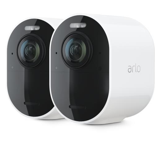 Arlo Ultra 4K Wireless White Spotlight 2 Camera Kit