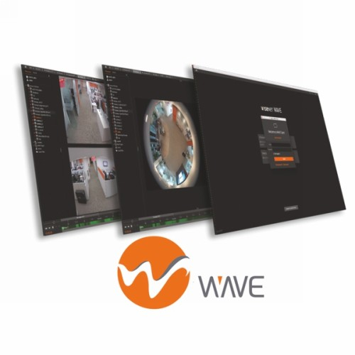 S/WARE LICENSE WiseNet Wave 4 Ch video