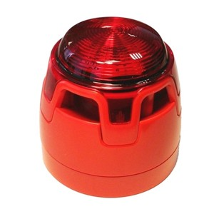 SBEACON-RED-RED LENS